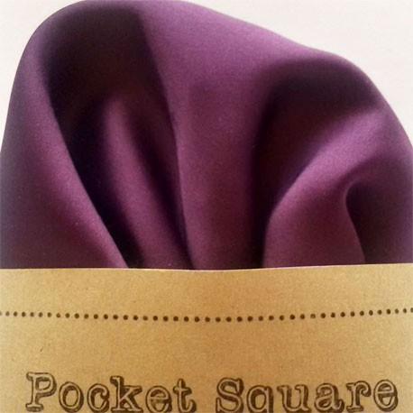 pañuelo de bolsillo morado
