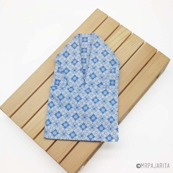 Pañuelo motivo azul