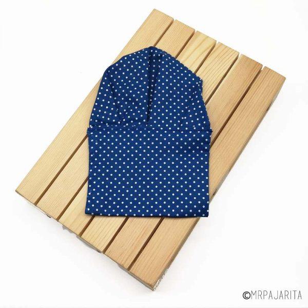 Pañuelo azul verdoso