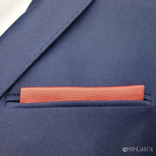 Pañuelo coral anaranjado