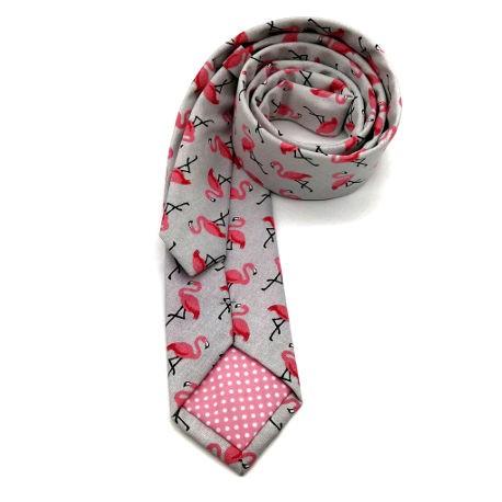 Corbata flamencos