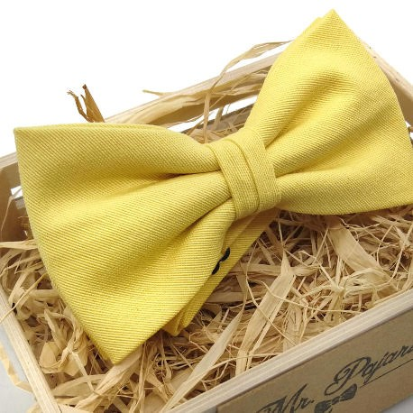 Pajarita Amarillo limón II