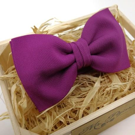 Pajarita Purpura