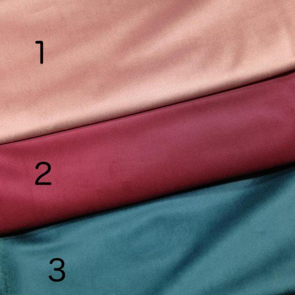 tejidos de terciopelo