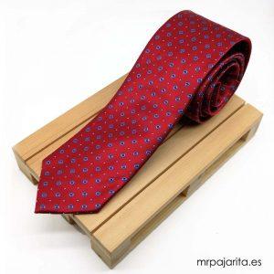 Corbata guinda