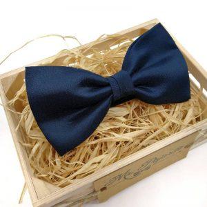 Pajarita Azul Marino