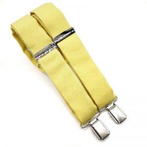 Tirantes amarillo limón