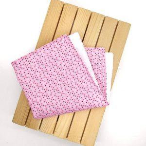Pañuelo Confeti rosa