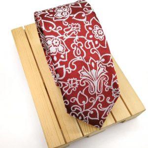 Corbata Baróc granate