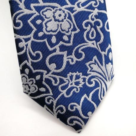 Corbata Baroc azul