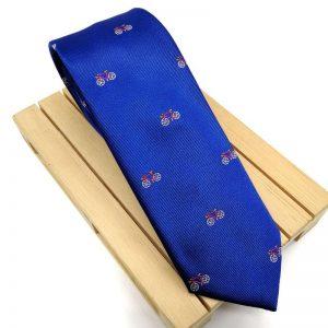 Corbata azulón bicicletas