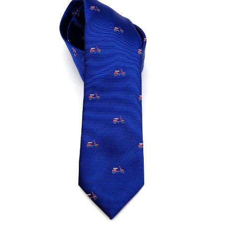 Corbata azulón motos