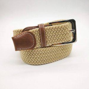 Cinturón beige