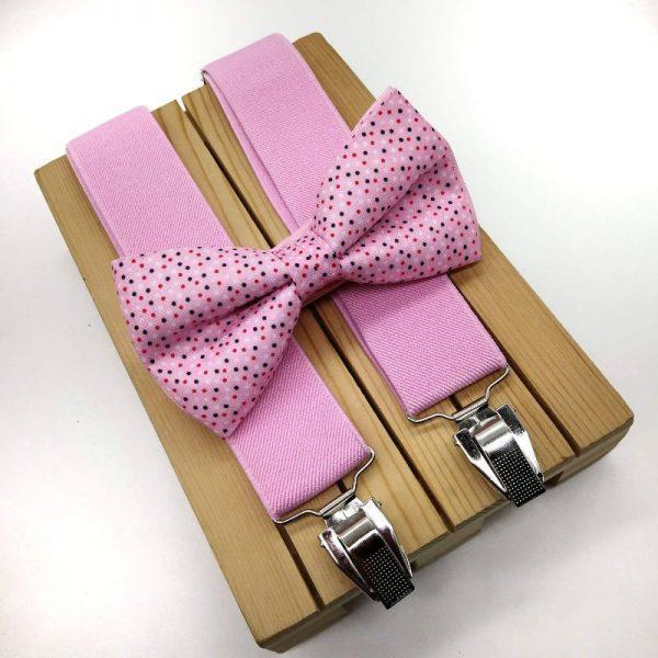 Tirantes elasticos rosa