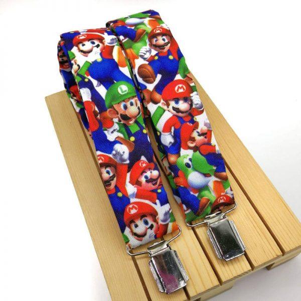 Pajarita y tirantes Mario