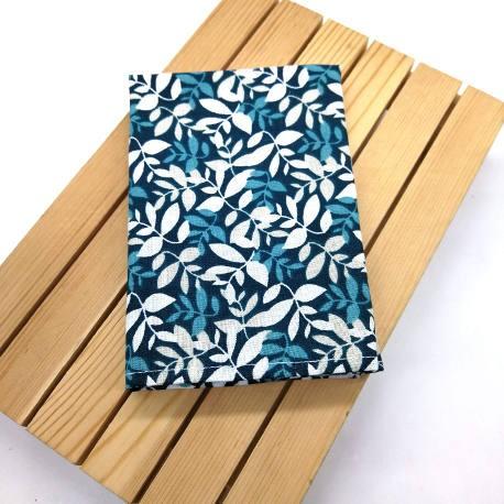 Pañuelo de bolsillo ramas verdes