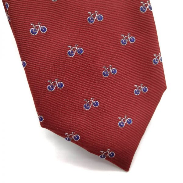Corbata roja bicicletas