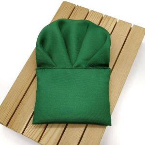 Pañuelo de bolsillo verde hoja