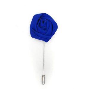 Alfiler solapa flor azulón