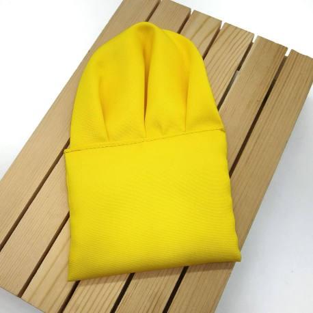 pañuelo de bolsillo amarillo intenso