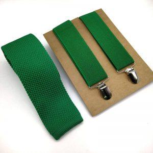 Tirantes y corbata punto verde andalucía