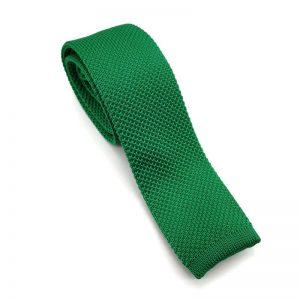 Corbata de punto verde andalucía
