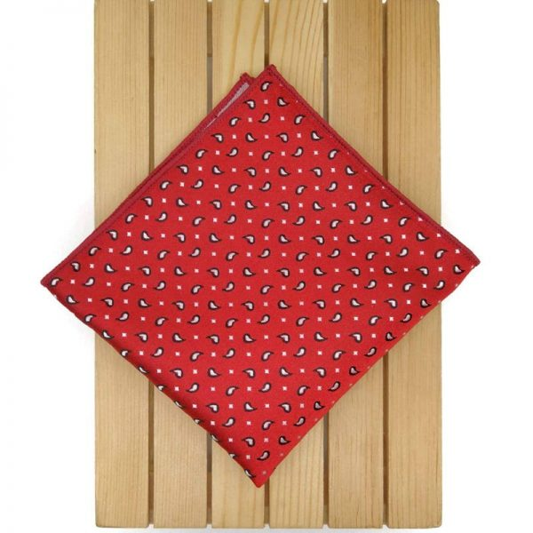 Pañuelo rojo amebas