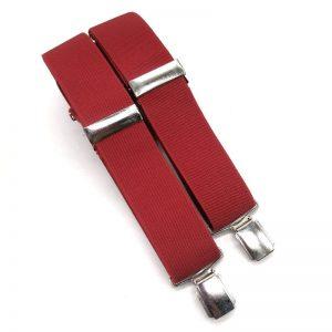 Tirantes elásticos rojos II