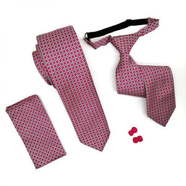 Corbata red rosa