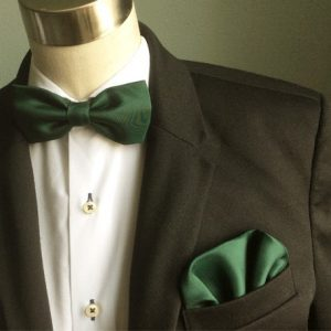 puñuelo de bolsillo verde botella
