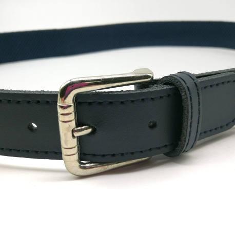 Cinturón de niño azul marino