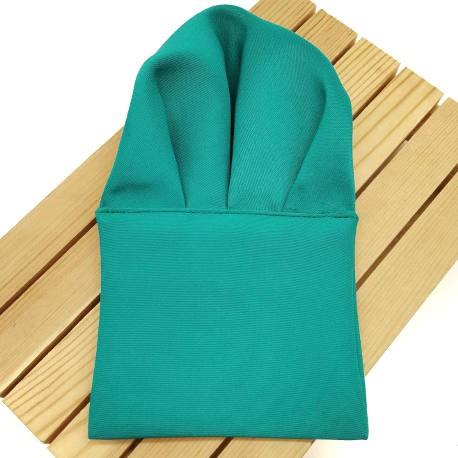 Pañuelo de bolsillo verde agua
