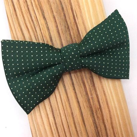 Corbata verde & topos