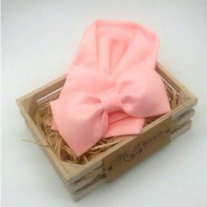 Pañuelo liso rosa claro