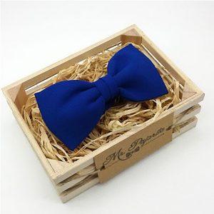 pajarita azul klein