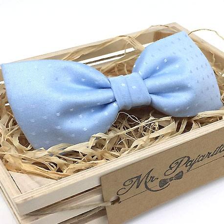 Pajarita azul & topos