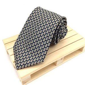 Corbata negra & gris
